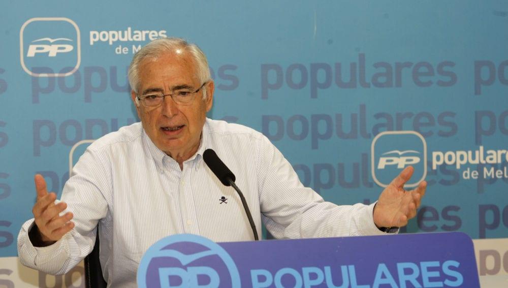 Juan José Imbroda, presidente de Melilla