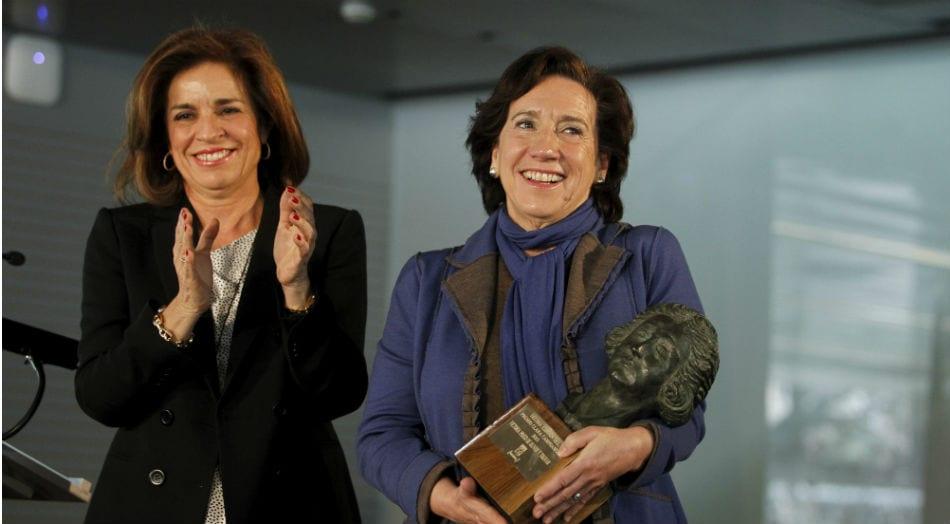 Victoria Prego y Ana Botella