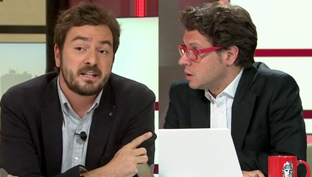 Jorge Bustos y Fernando Berlín en La Sexta
