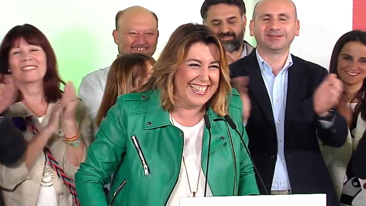 Susana Díaz, todavía lideresa del PSOE-A