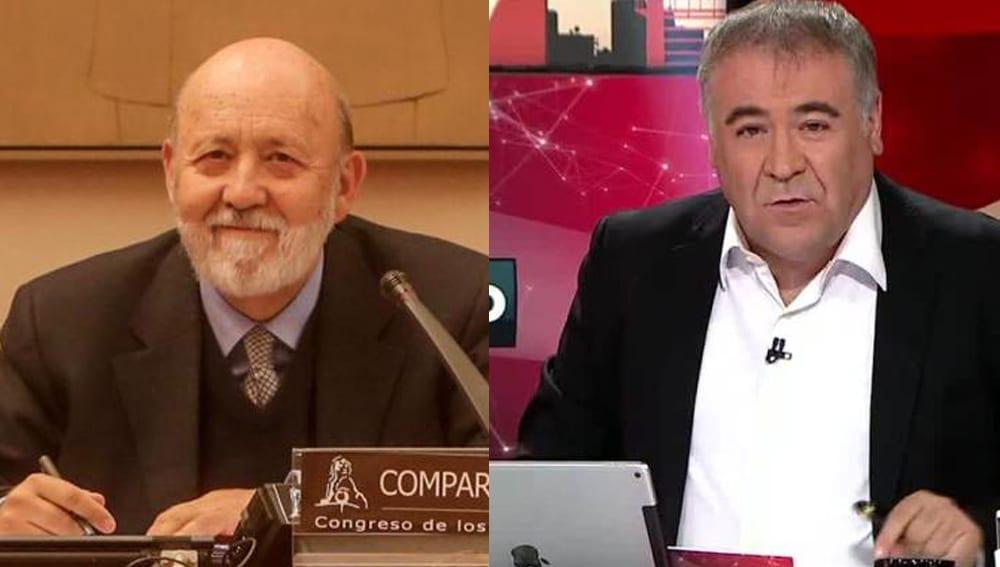 José Félix Tezanos y Antonio García Ferreras