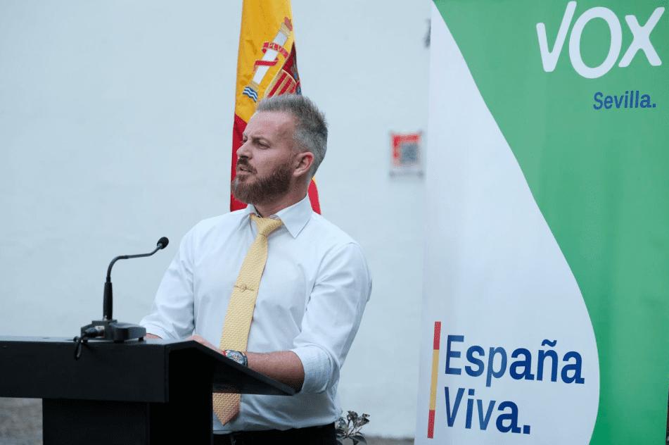 Adrián Trashorras, candidato de Vox a la alcaldía de Dos Hermanas