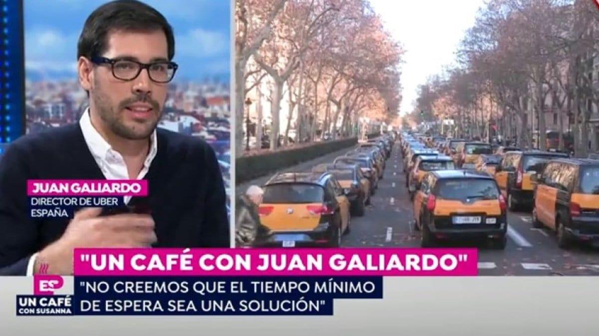 Juan Galiardo, Director de Uber España en Atresmedia