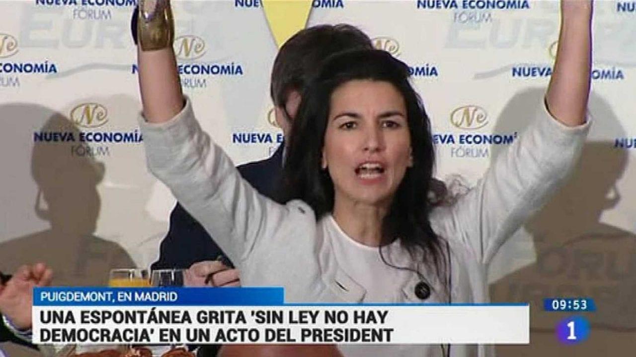 Rocío Monasterio en TVE