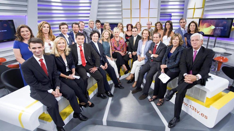 Presentadores de 13 TV