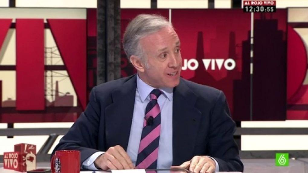 Eduardo Inda, director de OKDiario, en La Sexta