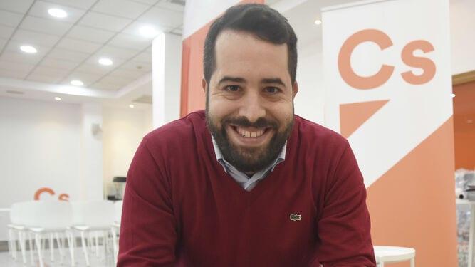 El senador y diputado autonómico Fran Carrillo (Ciudadanos)