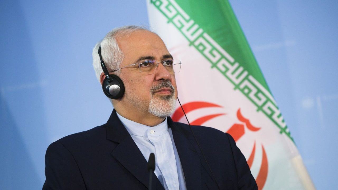Mohammad Javad Zarif, ministro de Exteriores de Irán