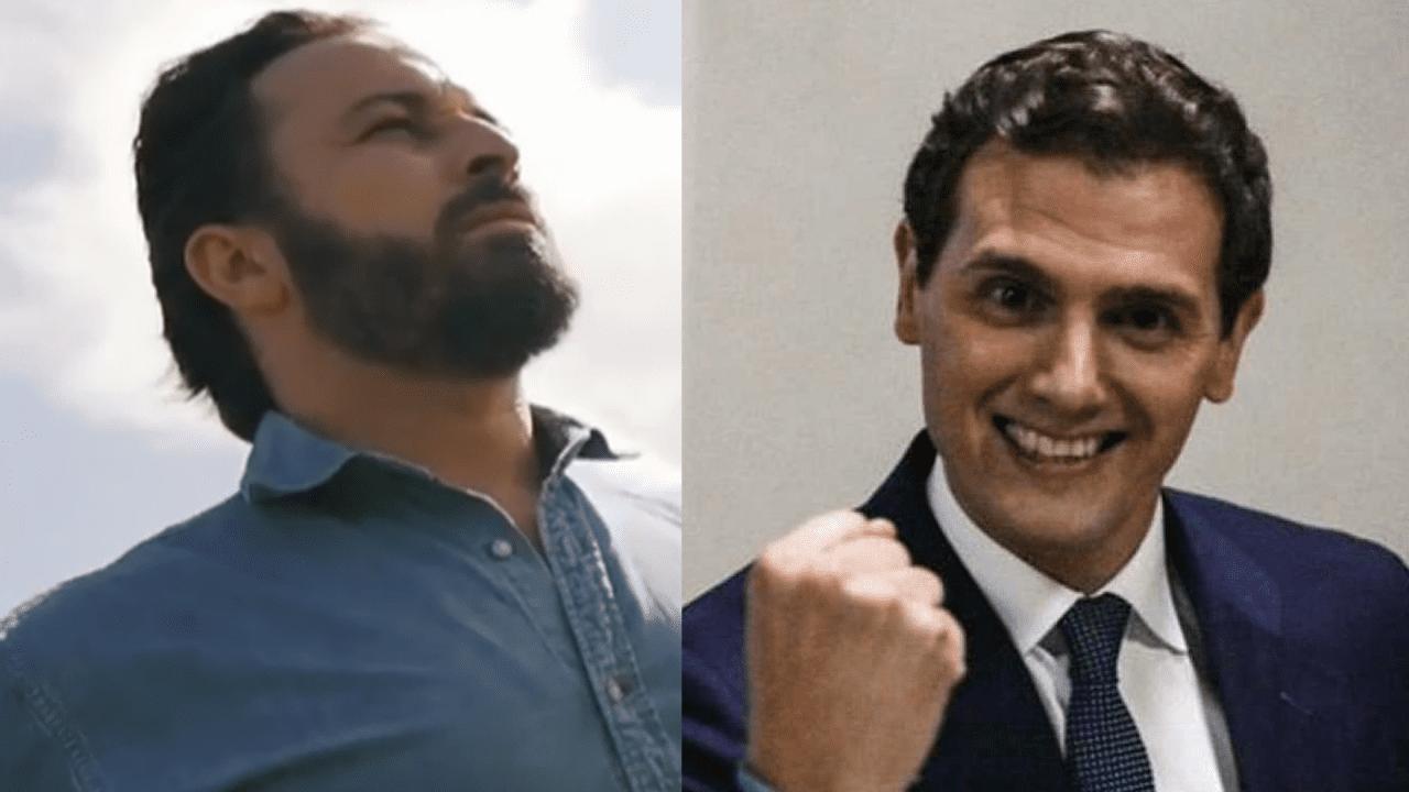 Santiago Abascal y Albert Rivera, líderes de VOX y Cs