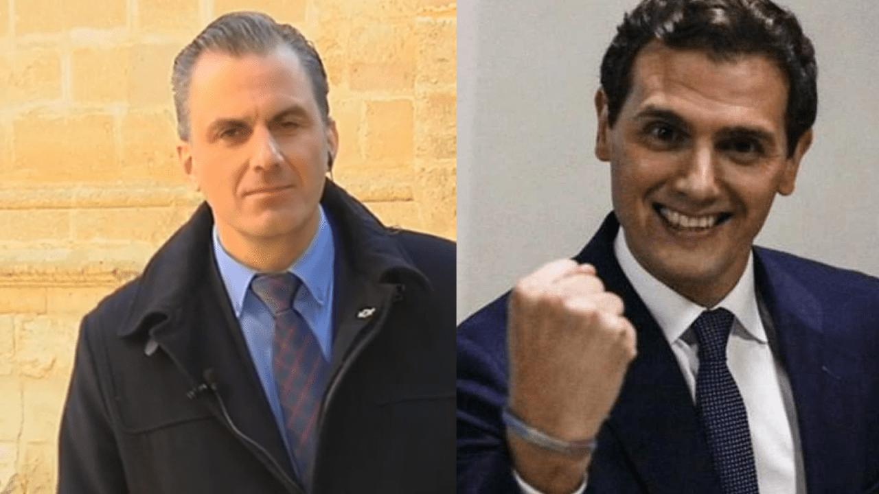 Javier Ortega Smith y Albert Rivera