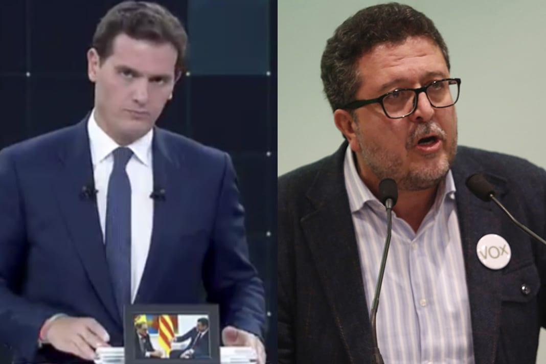 Albert Rivera y Francisco Serrano
