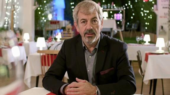 Carlos Sobera en el programa de Cuatro First Dates.