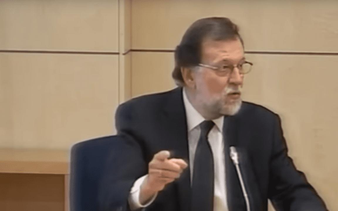 M. Rajoy en la Audiencia Nacional.