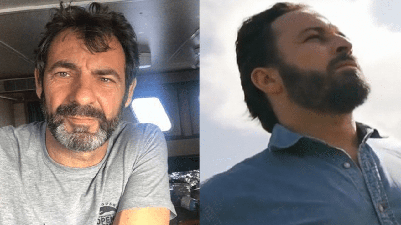 Óscar Camps (Open Arms) y Santiago Abascal (VOX)