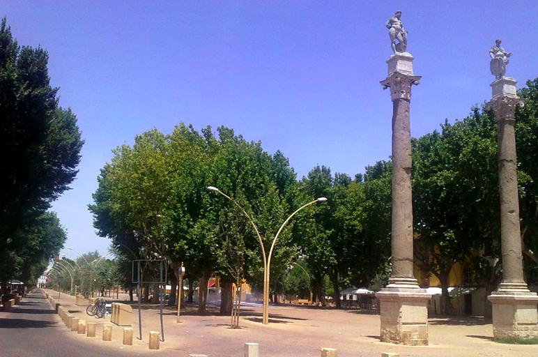 Alameda de Hércules, en el centro de Sevilla