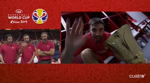 Retransmisión de Cuatro del Mundial de Baloncesto