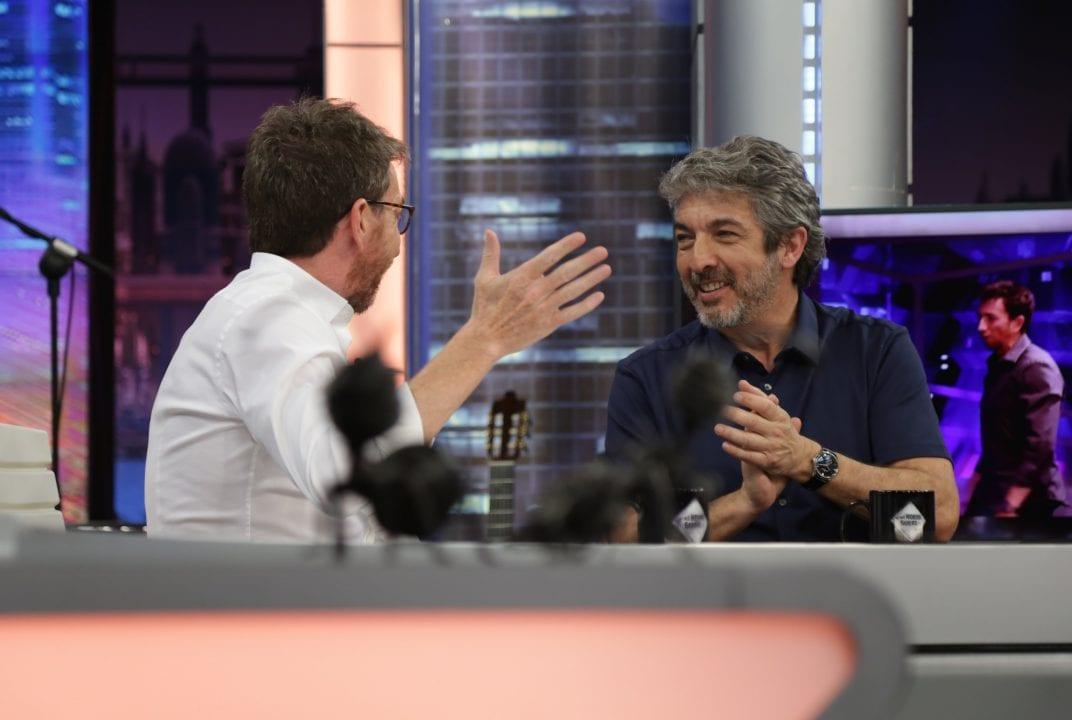 Pablo Motos y Ricardo Darín en Antena 3.