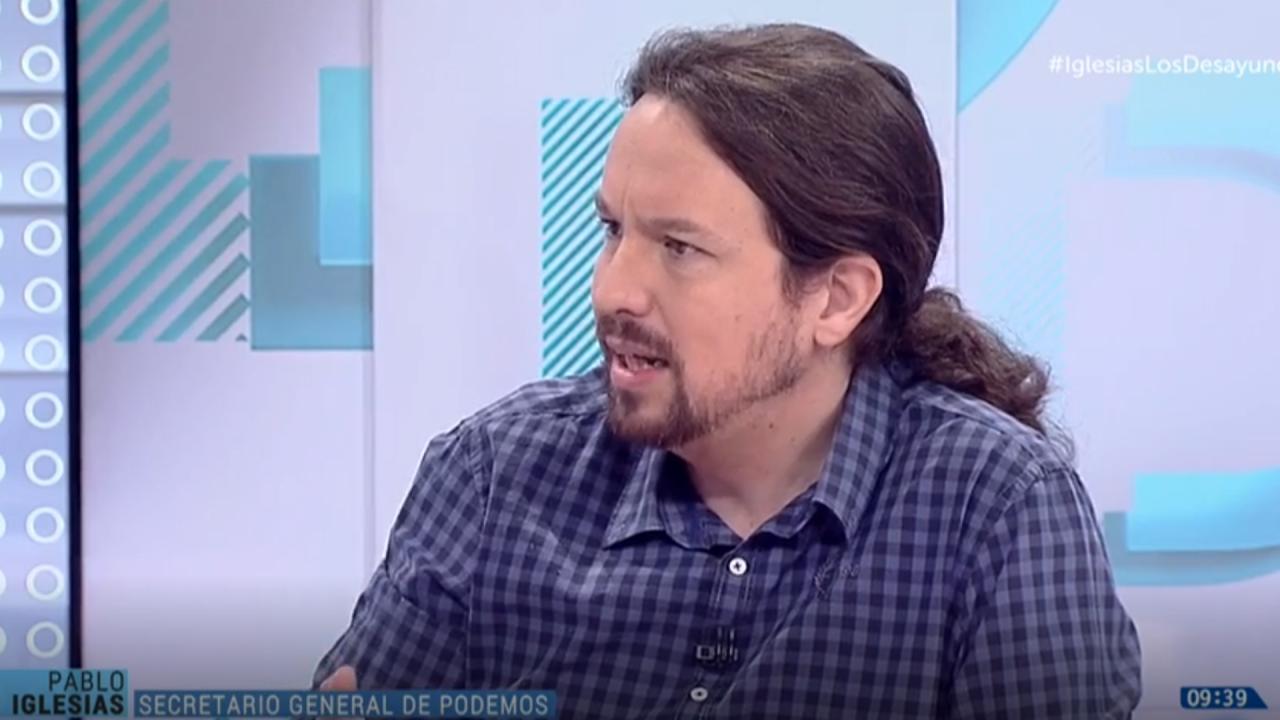 Pablo Iglesias en RTVE