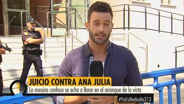 José Jaraque en Mediaset.