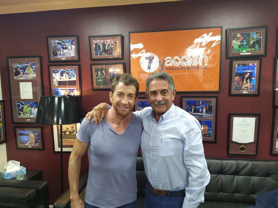Pablo Motos y Miguel Ángel Revilla en Antena 3.