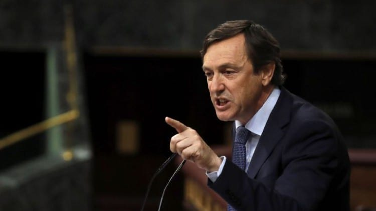 Rafael Hernando, senador del PP.