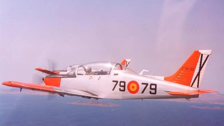Avioneta de instrucción Tamiz.