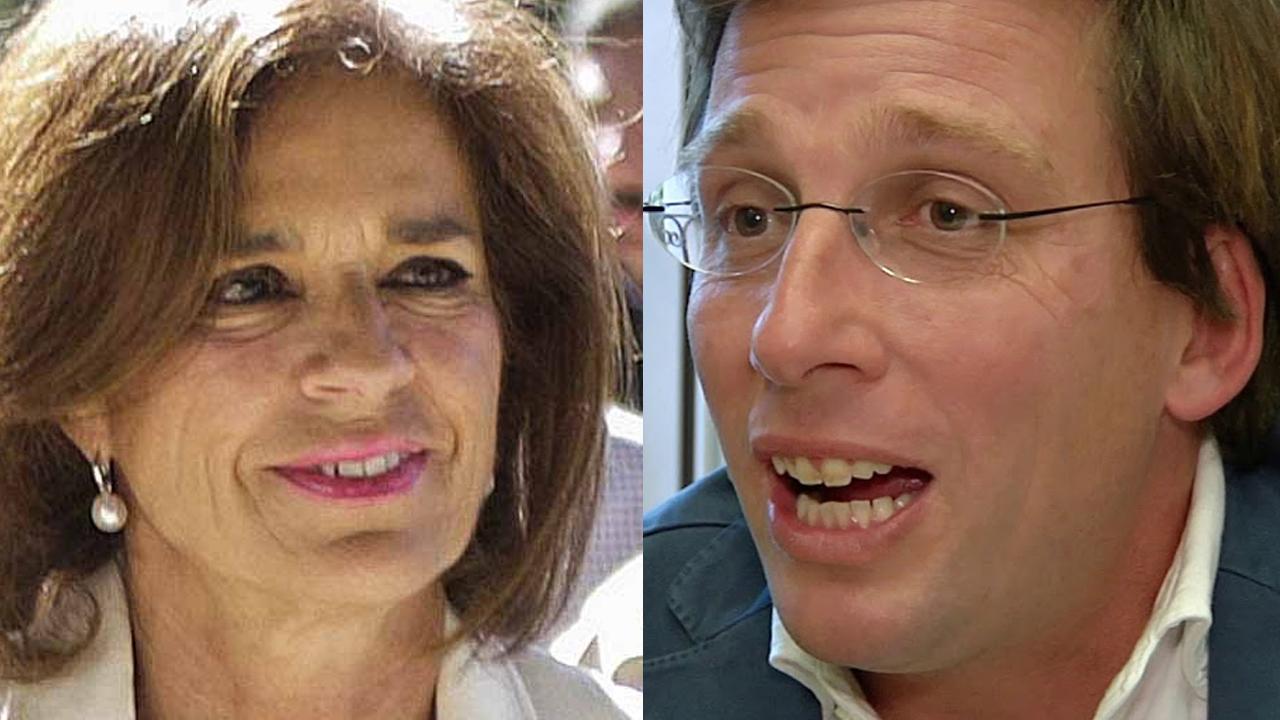 Ana Botella y José Luis Martínez-Almeida