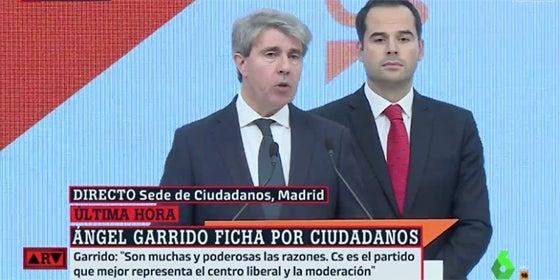 Ángel Garrido e Ignacio Aguado en laSexta