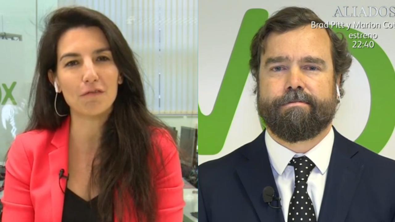 Rocío Monasterio e Iván Espinosa, peces gordos de VOX.
