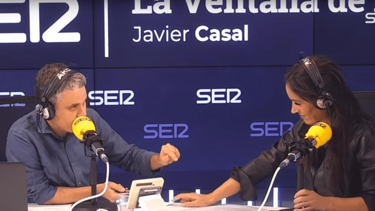 Begoña Villacís y Javier Casal en la SER.