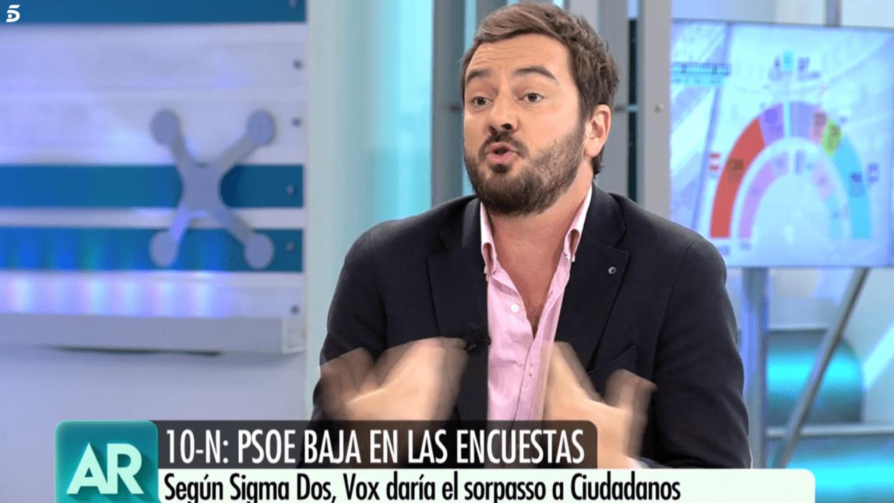 Jorge Bustos en Telecinco.