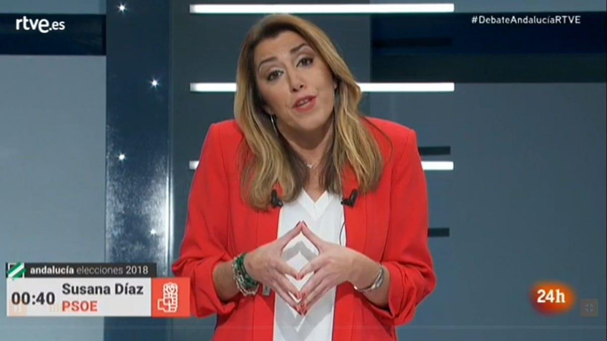 Susana Díaz, todavía jefa de la organización PSOE-A.