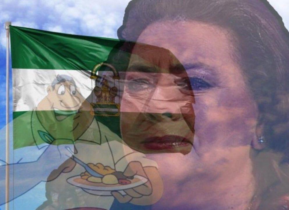 Meme sobre Andalucía. Fuente: Twitter