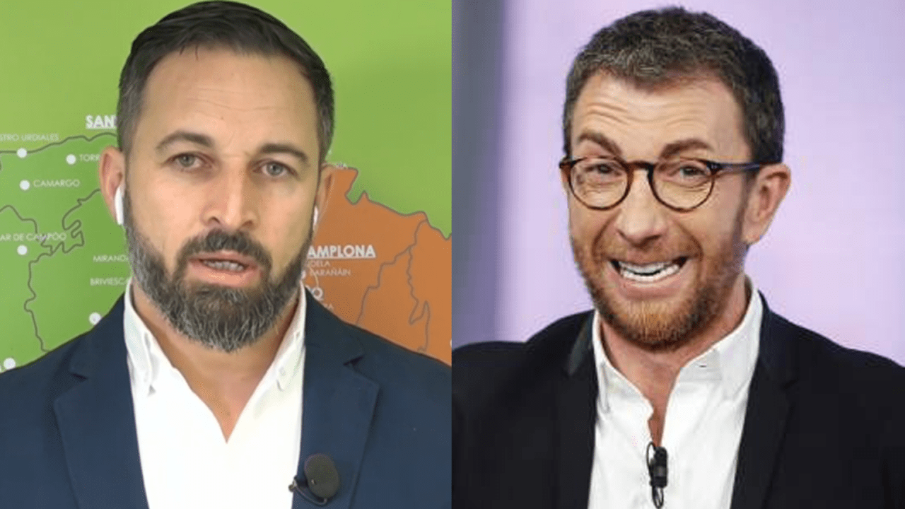 Santiago Abascal y Pablo Motos