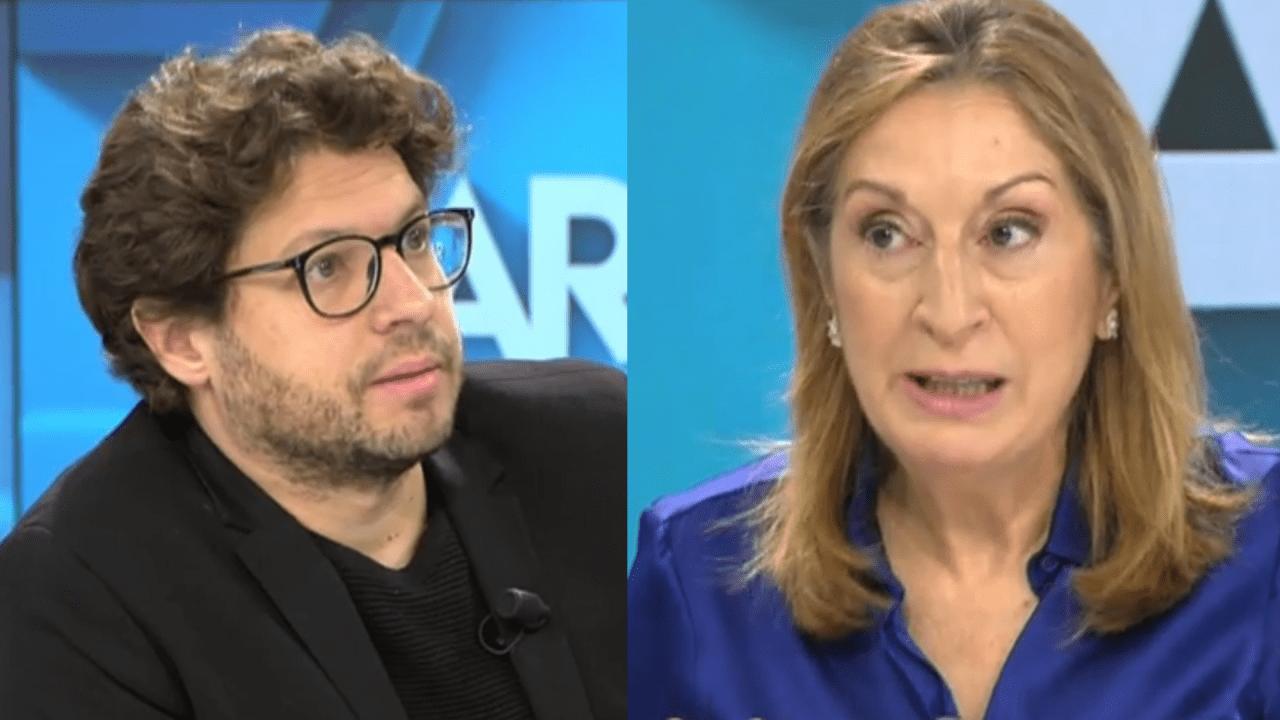 Fernando Berlín y Ana Pastor en Telecinco.