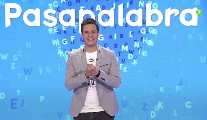 Christian Gálvez, presentador del programa Pasapalabra en  Telecinco