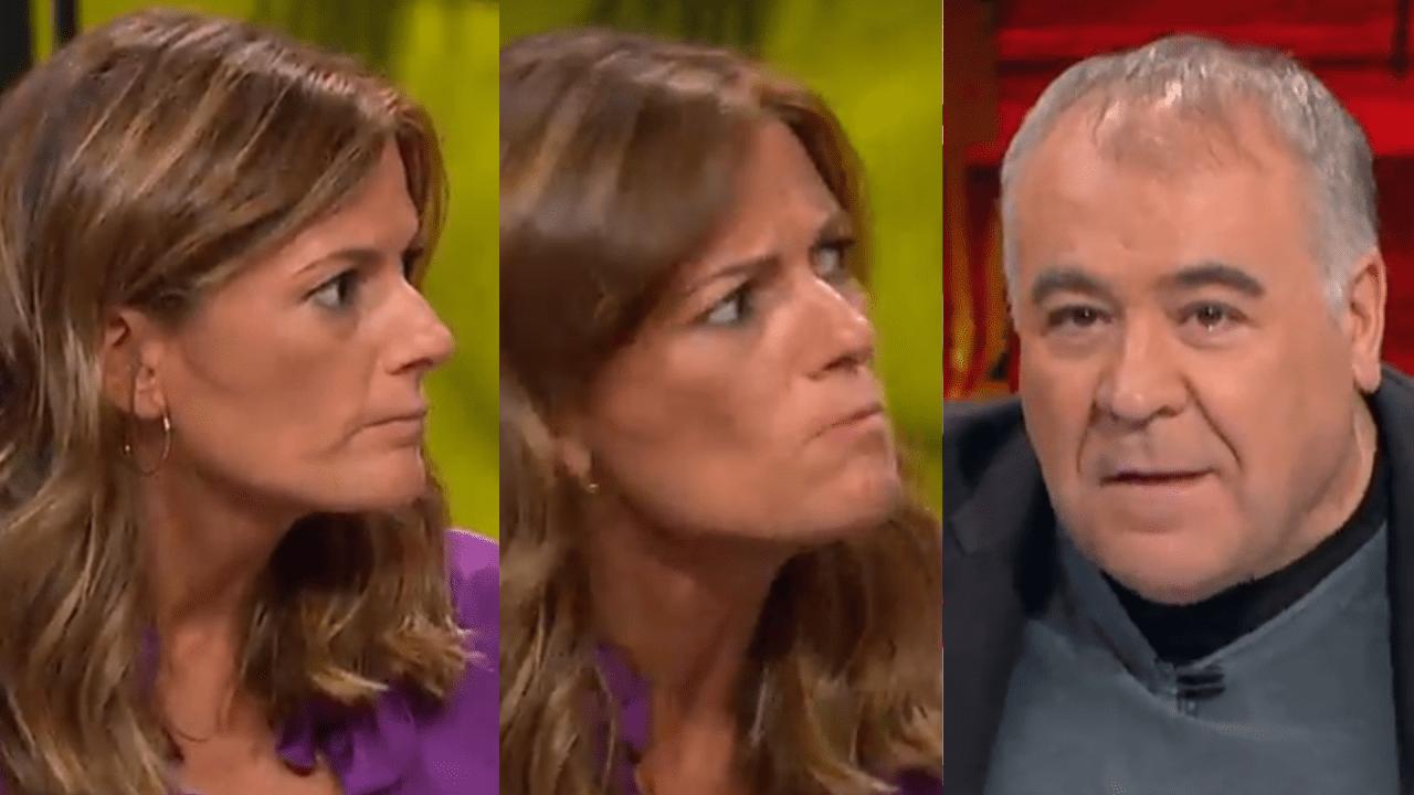 Pilar Gómez y Antonio García Ferreras en LaSexta.