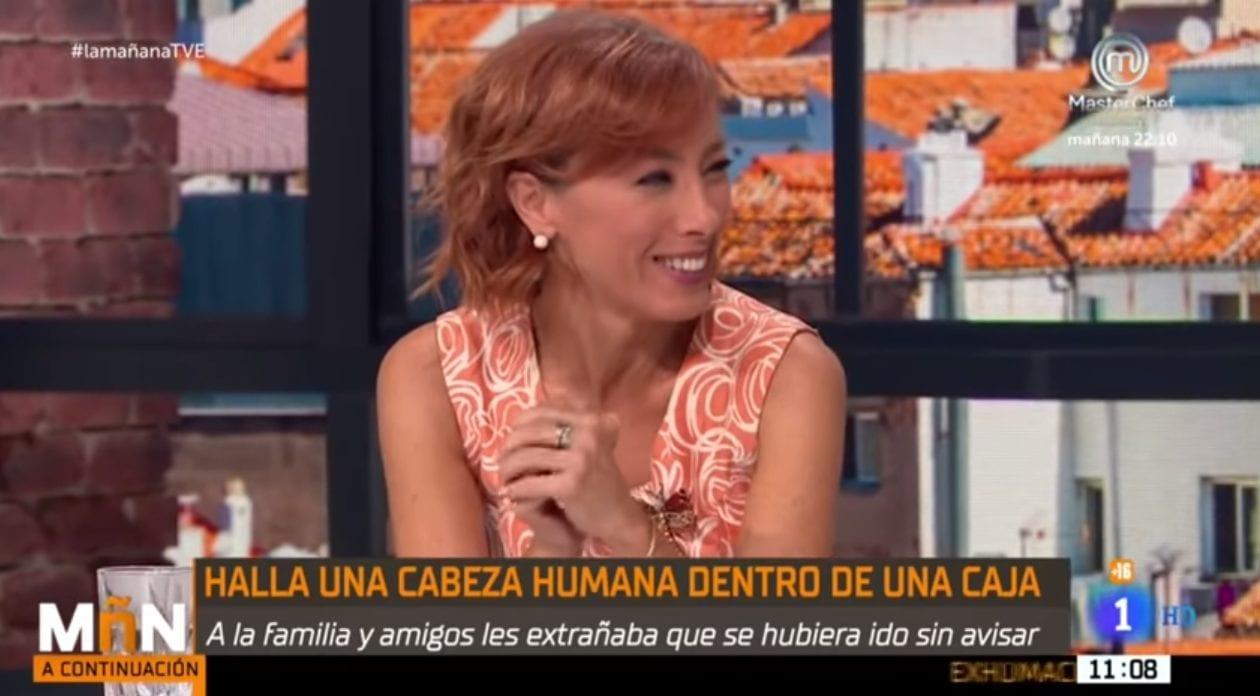 Una tertuliana riéndose de un asesinato en RTVE