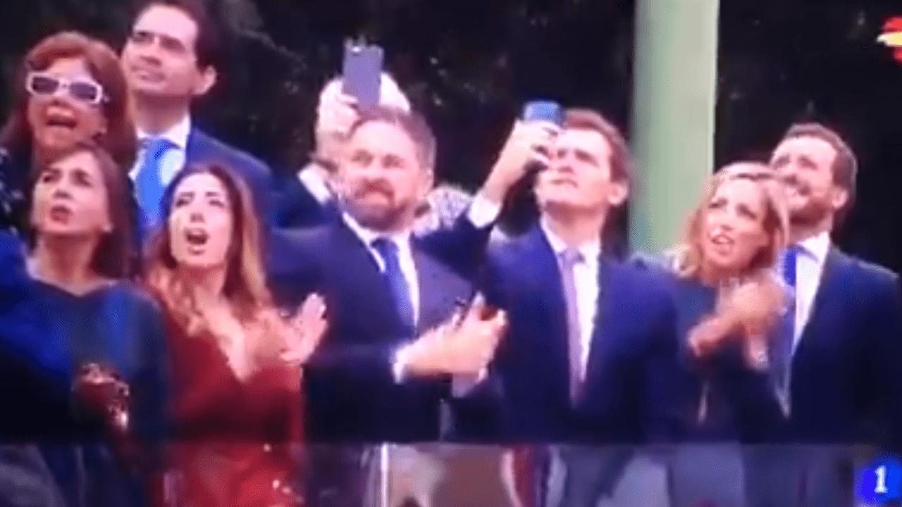 Abascal, Rivera y Casado en TVE.