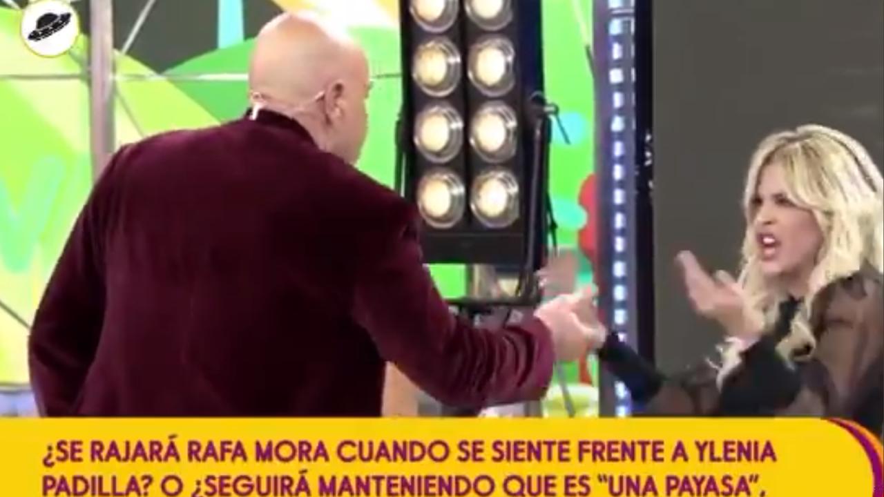 Kiko Matamoros e Ylenia en Telecinco.
