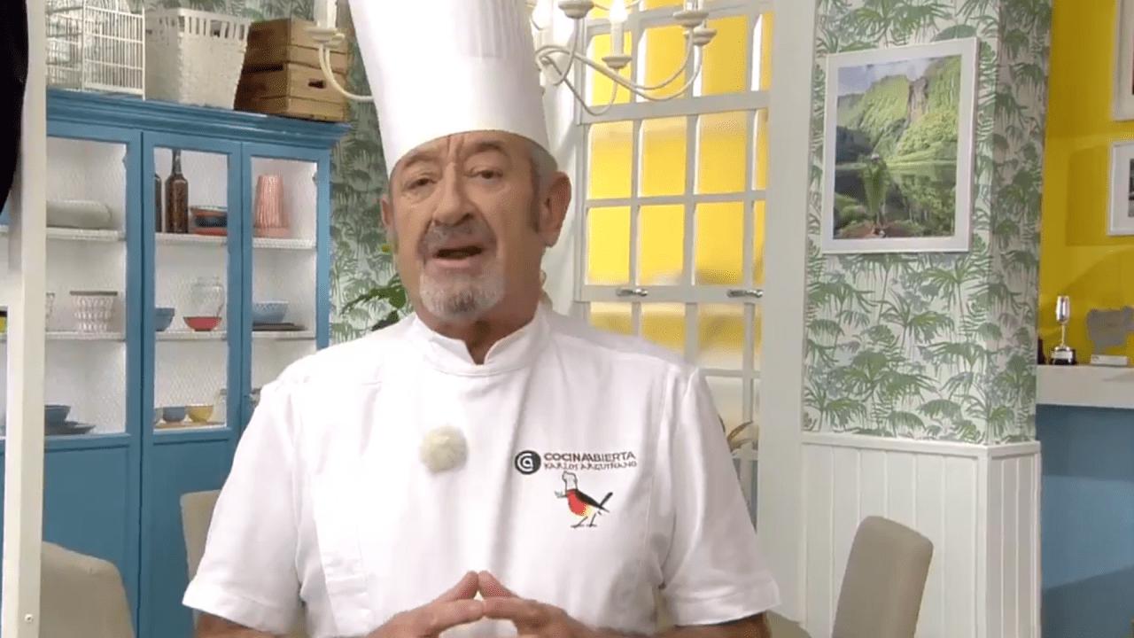 Karlos Arguiñano en Antena 3.