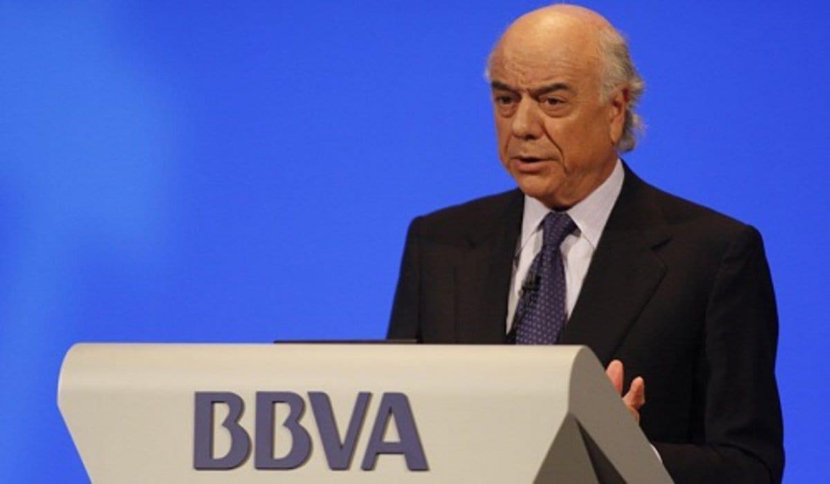 Francisco González, expresidente del BBVA.