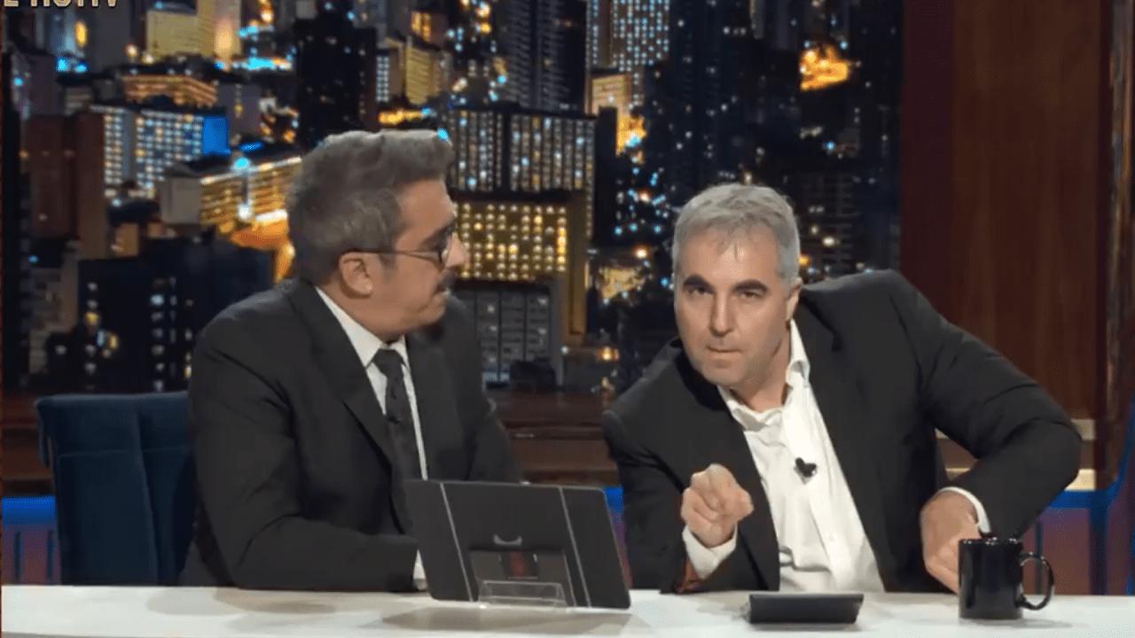 Buenafuente y Raúl Pérez en Movistar+.