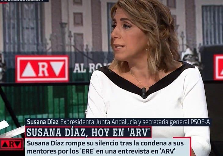 Susana Díaz en La Sexta.