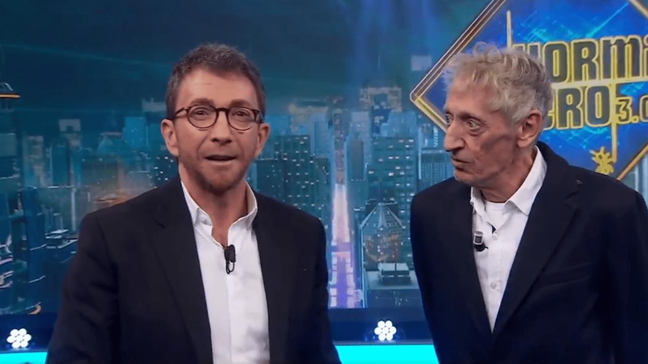 Enrique San Francisco y Pablo Motos en Antena 3.