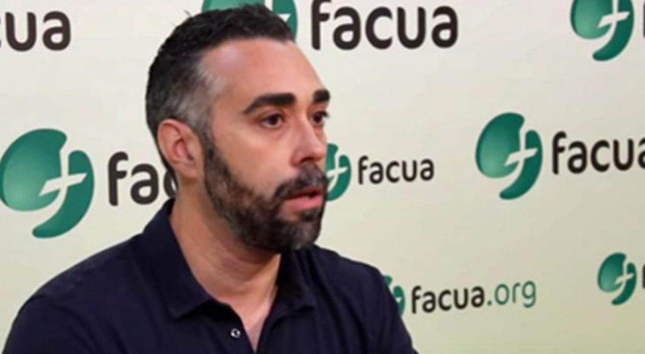 Rubén Sánchez, portavoz de FACUA (Archivo)