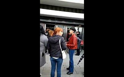 Incidencia en el Metro de Sevilla (Fuente: Twitter)