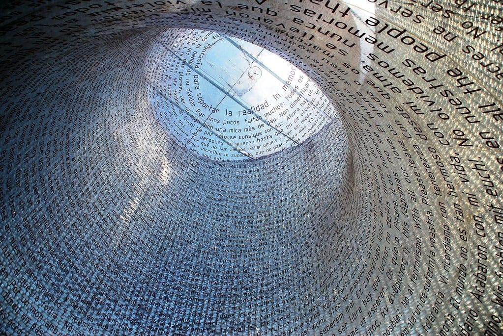 Monumento commemorativo a las víctimas del 11M.