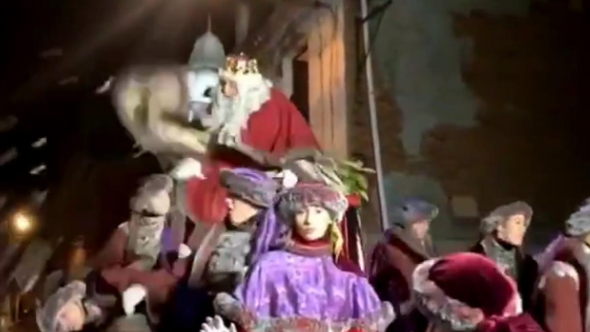 Rey Melchor en Tarrasa.