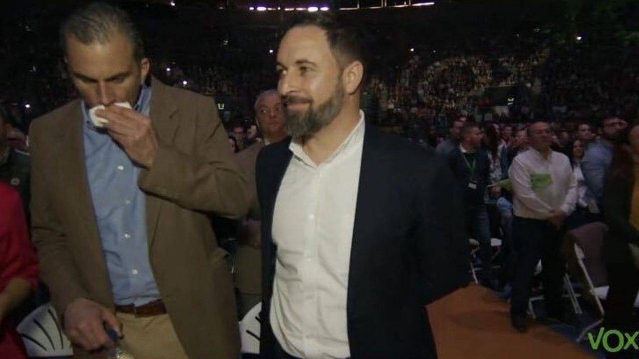 Santiago Abascal y Javier Ortega Smith